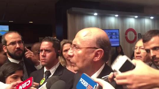Em meio à crise política, Meirelles diz que reforma da Previdência é agenda do país