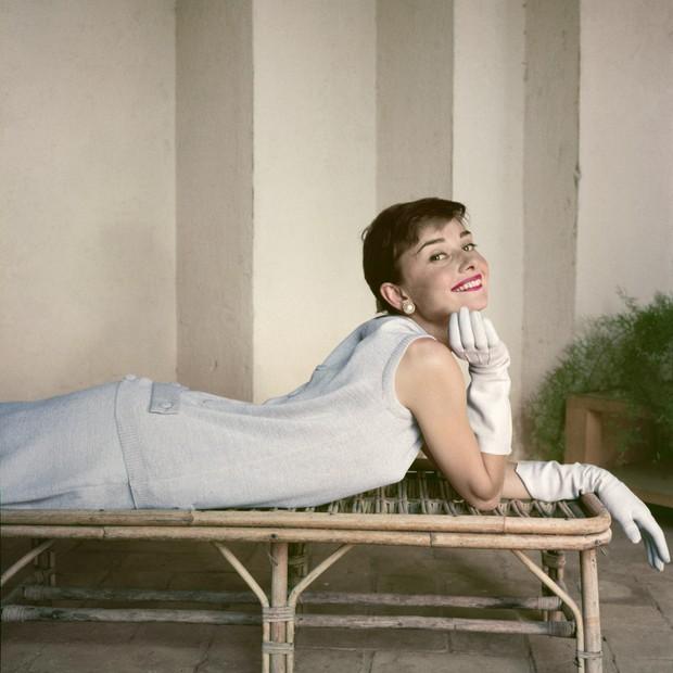 Audrey Hepburn, 1955 (Foto: Norman Parkinson)