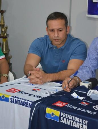 Hergos Couto, gerente de futebol do São Francisco (Foto: Michael Douglas/GloboEsporte.com)