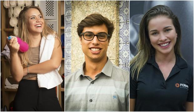 Malu Pizzatto, Francisco Vitti e Laryssa Ayres (Foto: Divulgação/Globo)
