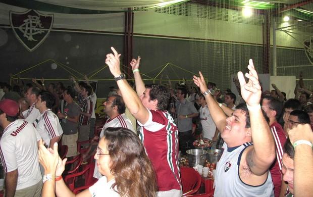 Evento do Fluminense nas Laranjeiras (Foto: Rafael Cavalieri / Globoesporte.com)