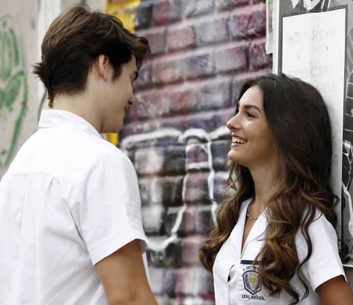 Luciana admite que terminou com Pedro para ficar com Rodrigo (Foto: Inácio Moraes/Gshow)