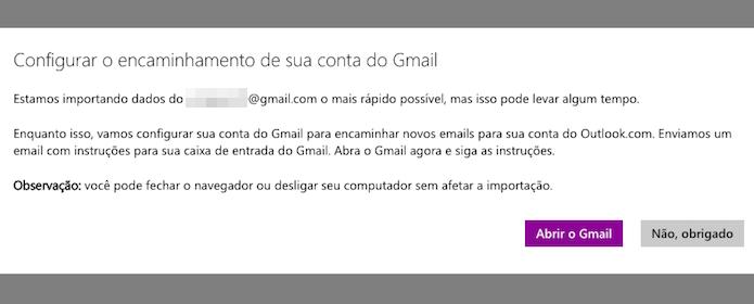 Importando mensagens antigas do Gmail (Foto: Reprodução/Helito Bijora)