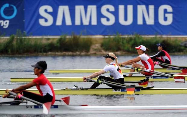 Atletas de 40 países disputaram provas em Eton Dorney (Foto: Divulgação)