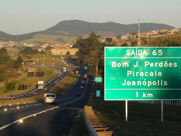 Rodovia Dom Pedro  foi considerada a terceira melhor do país. (Foto: Divulgação/Rota das Bandeiras)