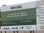 Moradores cobram continuidade das obras de unidades de saúde da capital