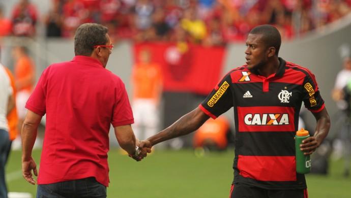 Marcelo Cirino, Flamengo x Shaktar (Foto: Gilvan de Souza / Flamengo)
