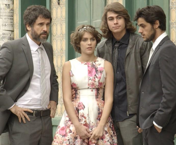 Karina arrasa na produção para o #CasamentoCobrade (Foto: TV Globo)