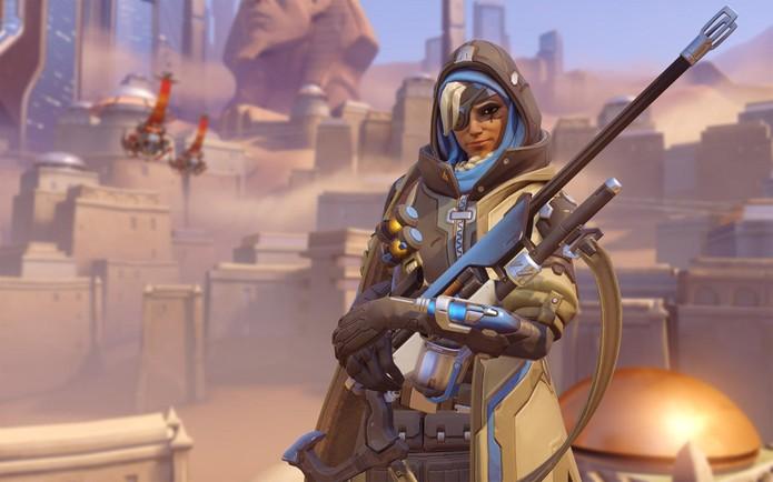Ana é a nova personagem de Overwatch (Foto: Divulgação/Blizzard) (Foto: Ana é a nova personagem de Overwatch (Foto: Divulgação/Blizzard))