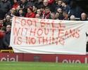 Ingressos caros e protestos: futebol é motivo de discussão na Inglaterra