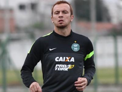 Zé Love, atacante do Coritiba (Foto: Divulgação/ Site oficial Coritiba)