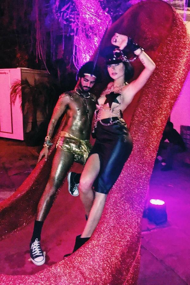 André Nicolau e Thayla Ayala (Foto: Reprodução/Instagram)