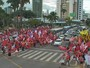 Ato de militâncias afeta trânsito na Agamenon Magalhães, no Recife