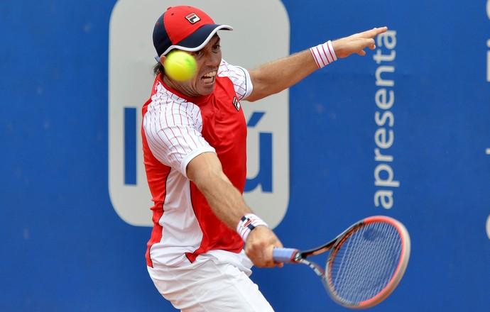 Carlos Berlocq tênis Challenger Campinas (Foto: João Pires / Fotojump)
