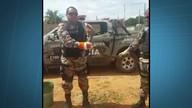 Polícia Ambiental captura três cobras em locais diferentes no mesmo dia
