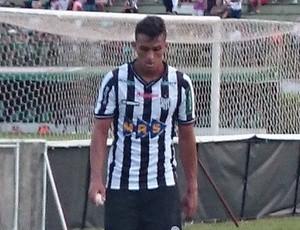 Tupi x Cruzeiro Maílson expulsão (Foto: Bruno Ribeiro)