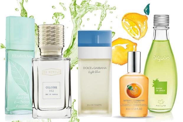 perfumes citricos