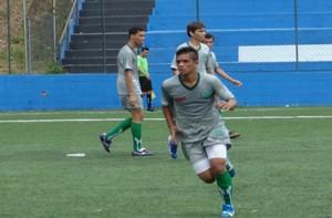 Imagine em amistoso preparatório para a Copa São Paulo de Juniores (Foto: Divulgação)