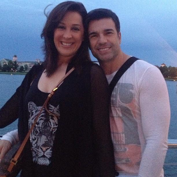 Claudia Raia e Jarbas Homem de Mello (Foto: Reprodução/Instagram)