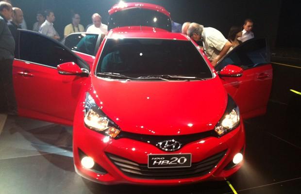 Hyundai HB20 chega partindo de R$ 31.995 (Foto: Divulgação)