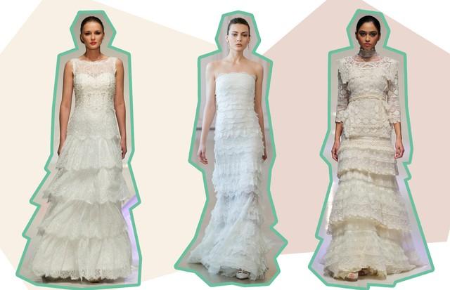 Vestidos de noiva: os melhores modelos de renda (Foto: ImaxTree)