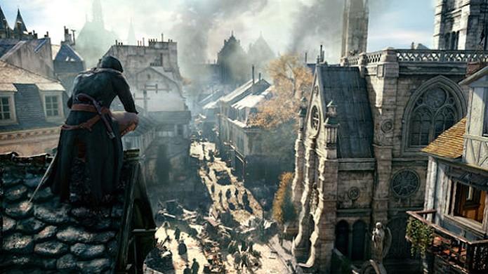 Paris de Assassins Creed Unity será o maior mapa já concebido para a série (Foto: Kotaku)