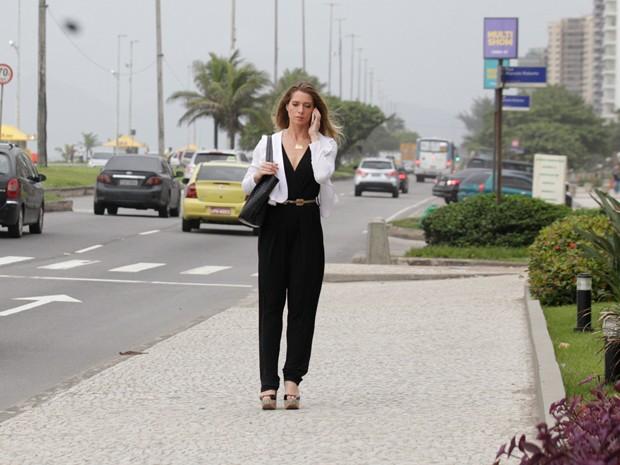 Letícia Spiller grava cenas de Antonia (Foto: Salve Jorge/TV Globo)