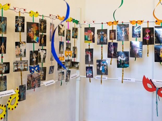 Acervo conta com mais de 150 peças de escolas de samba e blocos (Foto: Divulgação/Prefeitura de Itapetininga)