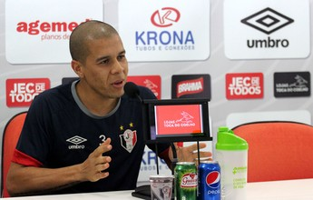Curtinha: Fernandinho sofre lesão e vira baixa do Joinville contra o Avaí