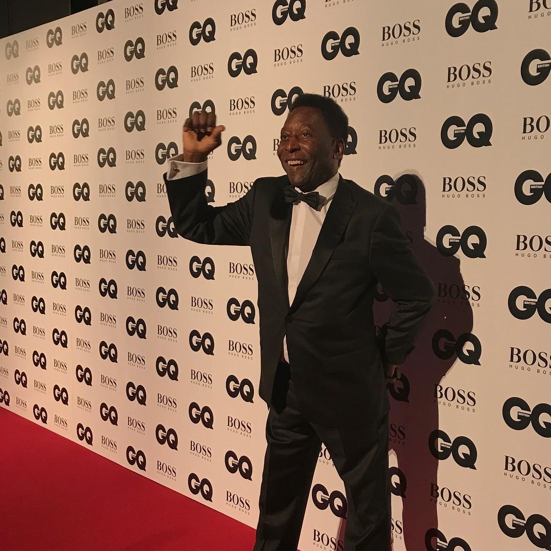 MOTY Britain Pelé (Foto: Reprodução/ Instagram)
