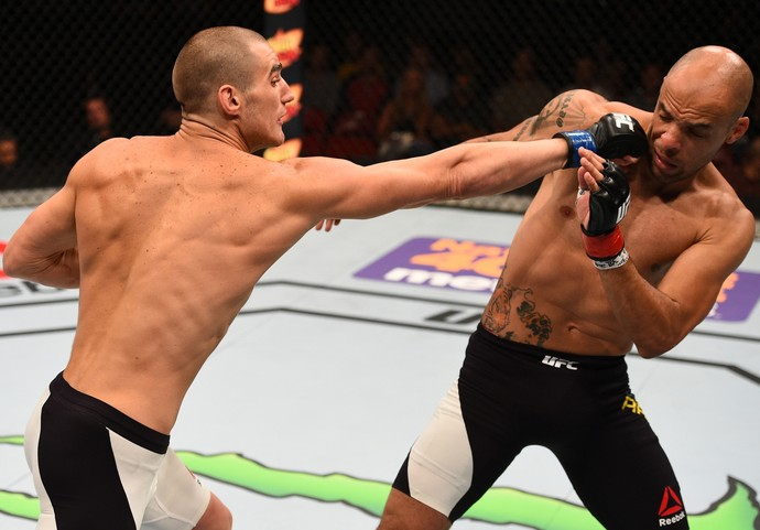 Sean Strickland e Igor Araújo UFC San Diego (Foto: Getty Images)