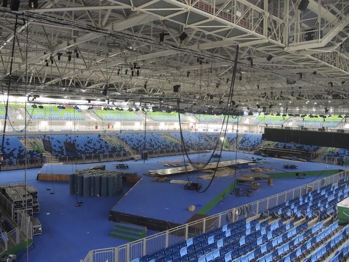 Arena Carioca 3 (Foto: GloboEsporte.com)