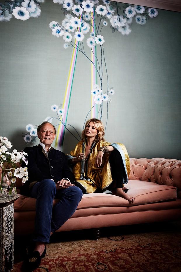 Por dentro da casa de Kate Moss em Londres (Foto: divulgação)