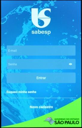 Sabesp App 1 (Foto: Divulgação/Sabesp)