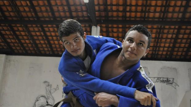 Judô - Piauí - Olimpíadas Escolares 2 (Foto: Renan Morais/GLOBOESPORTE.COM)