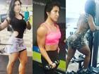 Priscila Pires fala sobre treinos e dieta: 'Se não fosse a cerveja, estaria melhor'