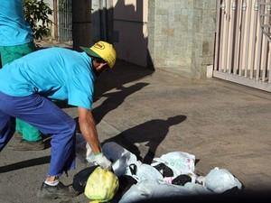 Horário de disposição lixo Itaúna (Foto: divulgação /ASCOM Prefeitura de Itaúna.)