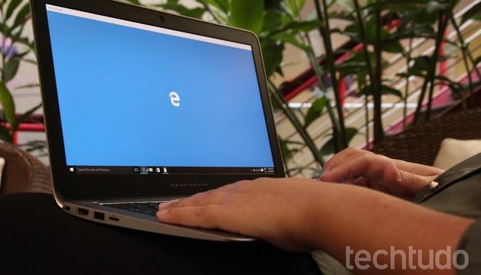 Windows Defender deixará o Microsoft Edge mais seguro no Windows 10 Enterprise (Foto: Zíngara Lofrano/TechTudo)