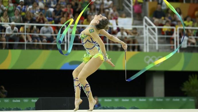 Natalia Gaudio Ginática Rítmica Rio 2016 Olimpíadas (Foto: REUTERS/Mike Blake)