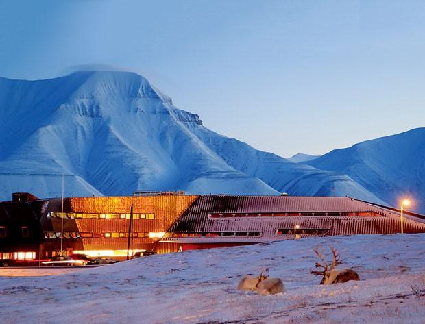 Arquitetura no limite (Foto: Nils Petter Dale / JVA)