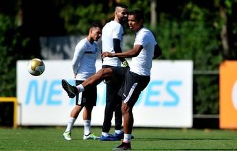 """David Braz dá dicas para Lucas Lima jogar final pelo Santos: """"Pé para cima"""""""