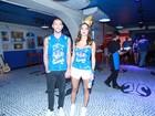 Acompanhada de modelo, Thaila Ayala nega namoro: 'Sou bicho livre'