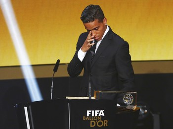 Wendell Lira gol mais bonito (Foto: REUTERS/Arnd Wiegmann)