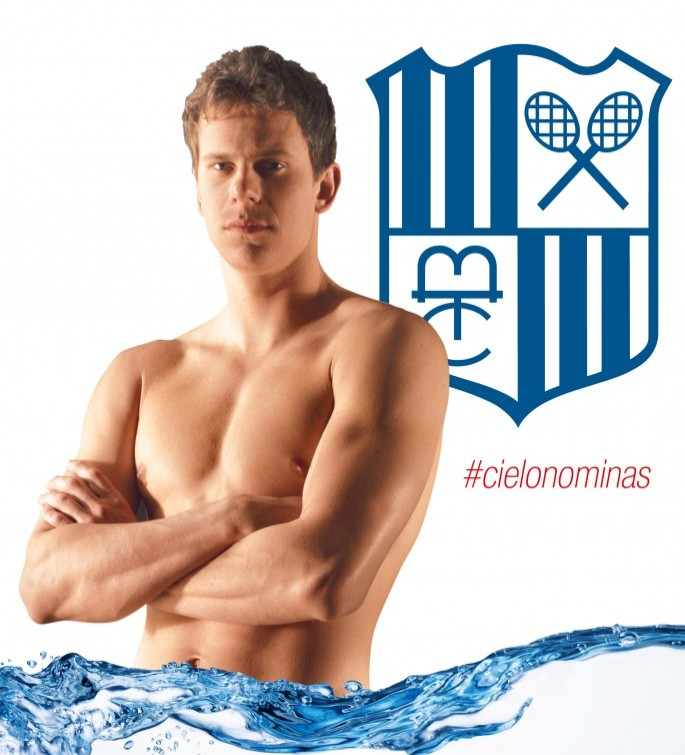 cesar cielo natação minas tênis clube (Foto: Site Minas Tênis Clube)