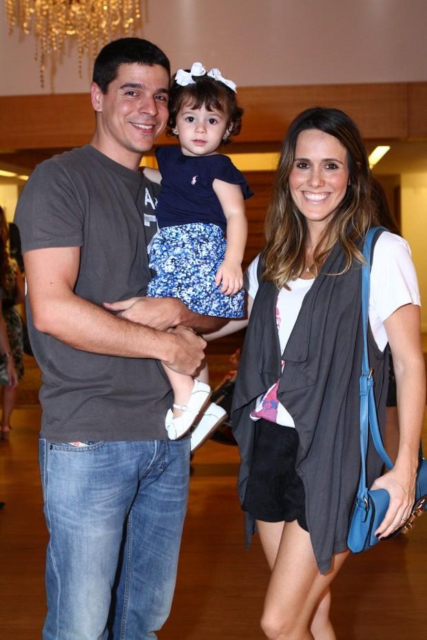 Fernanda Pontes e familia (Foto: Raphael Mesquita/Fotorio News)