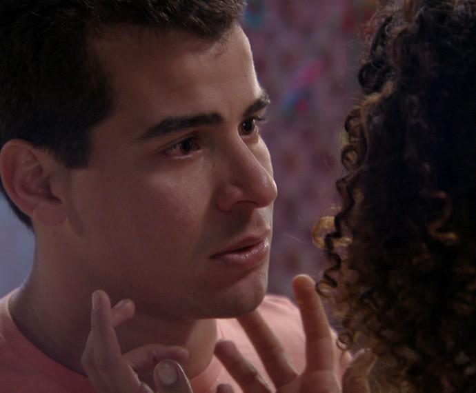 Diogo termina seu casamento com Gabi (Foto: TV Globo)