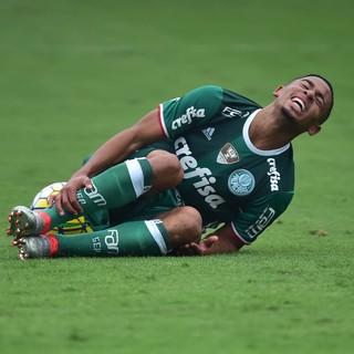 São Paulo X Palmeiras Gabriel Jesus (Foto: Marcos Ribolli)