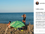 Yanna Lavigne se despede da Itália e agradece a tio de Bruno Gissoni