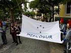 Venezuela desafia parceiros e hasteia bandeira do Mercosul