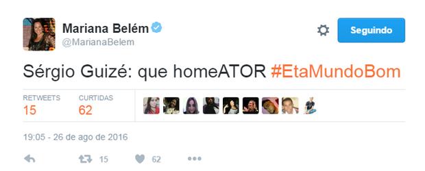Comentários sobre o final de Eta Mundo Bom (Foto: Reprodução/Twitter)